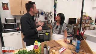 NORBERT COMMIS D'OFFICE - Nathalie et sa cuisine au micro-onde / Florian et sa normandiflette