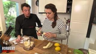 NORBERT COMMIS D'OFFICE - Clémentine et sa tarte à la banane / Messaouda et sa tatin de canard